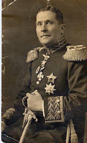 Juan Pablo Bennett - General Juan Pablo Bennett.