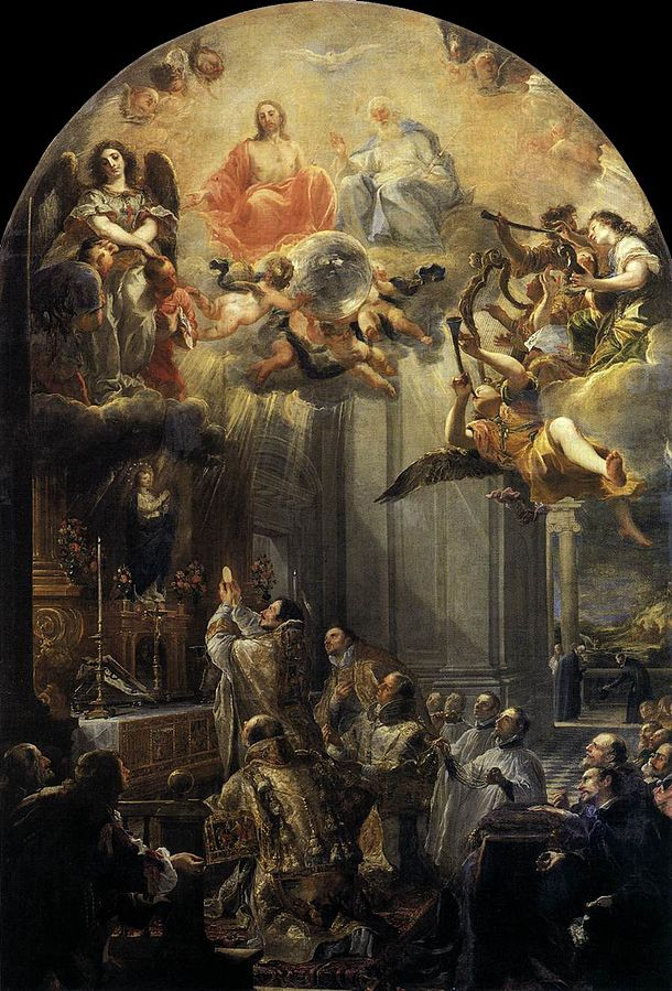 The Foundation Mass of the Trinitarian Order