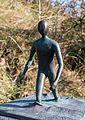 Juist, Skulptur -Strandläufer- -- 2014 -- 3652.jpg