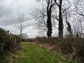 Junction of bridleway and Newlands Lane - geograph.org.uk - 1768695.jpg