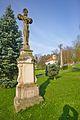 Kříž na návsi, Domašov nad Bystřicí, okres Olomouc.jpg