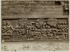 KITLV 28055 - Kassian Céphas - Relief of the hidden base of Borobudur - 1890-1891.tif