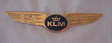 Current KLM pilot wing KLM Wing.jpg