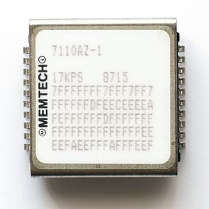 Bubble memory - Bubble memory by MemTech (purchaser of Intel Magnetics).
