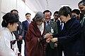 KOCIS Korea President Park KoreaCraft 09 (12166117913).jpg