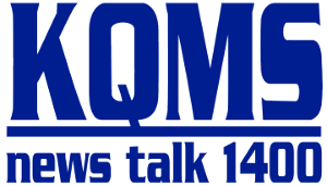 KQMS (AM) - Image: KQMS News Talk 1400 Logo 1990's 2011