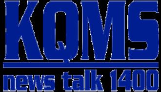 KQMS (AM) - Image: KQMS News Talk 1400 Logo 1990's 2011