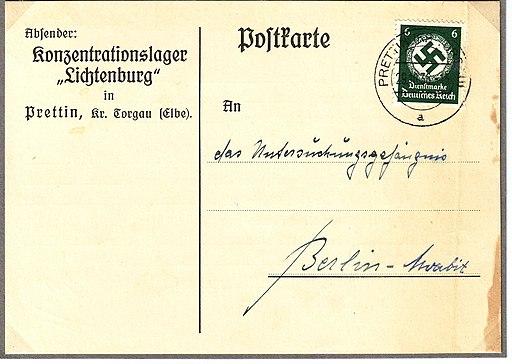 KZ Lichtenburg - Kommandantur