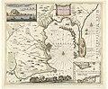Kaart van Gibraltar, 1704 De Haven en Straat van Gibraltar (titel op object), RP-P-OB-83.395.jpg