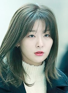 Kang Seul-gi at Incheon Airport on January 5, 2019.jpg