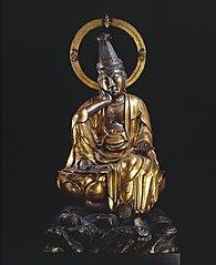 statue of Kannon Bosatsu