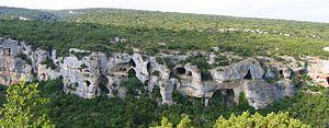 Karst - A karst landscape in Minerve, Hérault, France