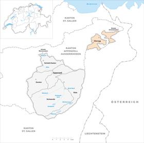 Map of Oberegg
