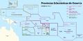 Karte Kirchenprovinzen und Diözesen in Ozeanien - es.png