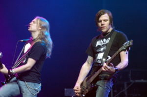 Katatonia - Anders Nystrom and Mattias Norrman