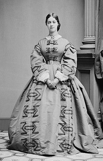 Kate Chase - Kate Chase, circa 1861