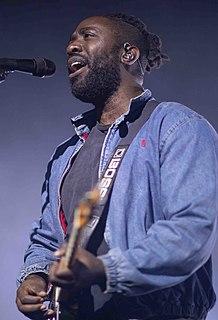 Kele Okereke English singer/songwriter and guitarist
