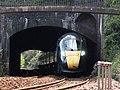 Kennaway Tunnel - GWR 802101 up Torbay Express.JPG