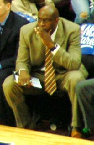 Kenny Natt - Natt in 2006 as an assistant coach for the Cleveland Cavaliers.