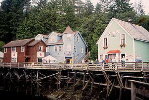 National Register of Historic Places listings in Ketchikan Gateway Borough, Alaska - Image: Ketchikan Creek Street