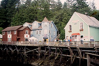 National Register of Historic Places listings in Ketchikan Gateway Borough, Alaska - Image: Ketchikan Creek Street