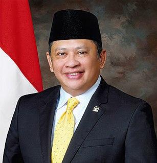 Bambang Soesatyo Indonesian politician