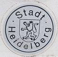 Kfz-Zulassungsplakette Stadt Heidelberg alt Securasta.jpg