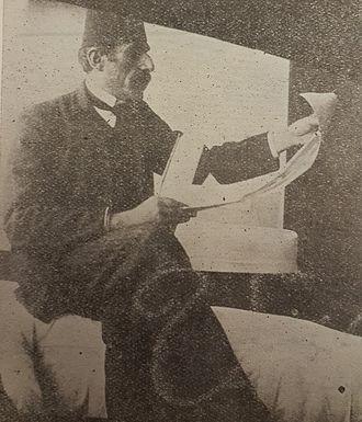 Bechara El Khoury - Sheikh Khalil El Khoury, Sheikh Bechara El Khoury's father, in a 19th-century photo