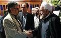 Khatam funeral of Asadollah Fereydoun, Noor Mosque, Tehran - 5 October 2011 03.jpg