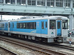 KiHa 100 series - Aterazawa Line KiHa 101-12 in August 2002