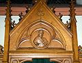 Kierch Diddeleng, Beichtstull Kartusch-104.jpg