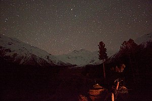 Pakistan Meteorological Department - A astronomical observatory working in Nanga Parbat range, 2013.