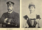 King George V and Queen Mary of the United Kingdom