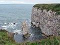 King Rock and Queen Rock, South Breil, Flamborough Head - geograph.org.uk - 765833.jpg