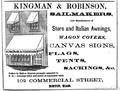 Kingman BostonDirectory 1868.png