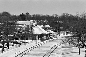 Kirkwood, Missouri - Kirkwood Amtrak Station