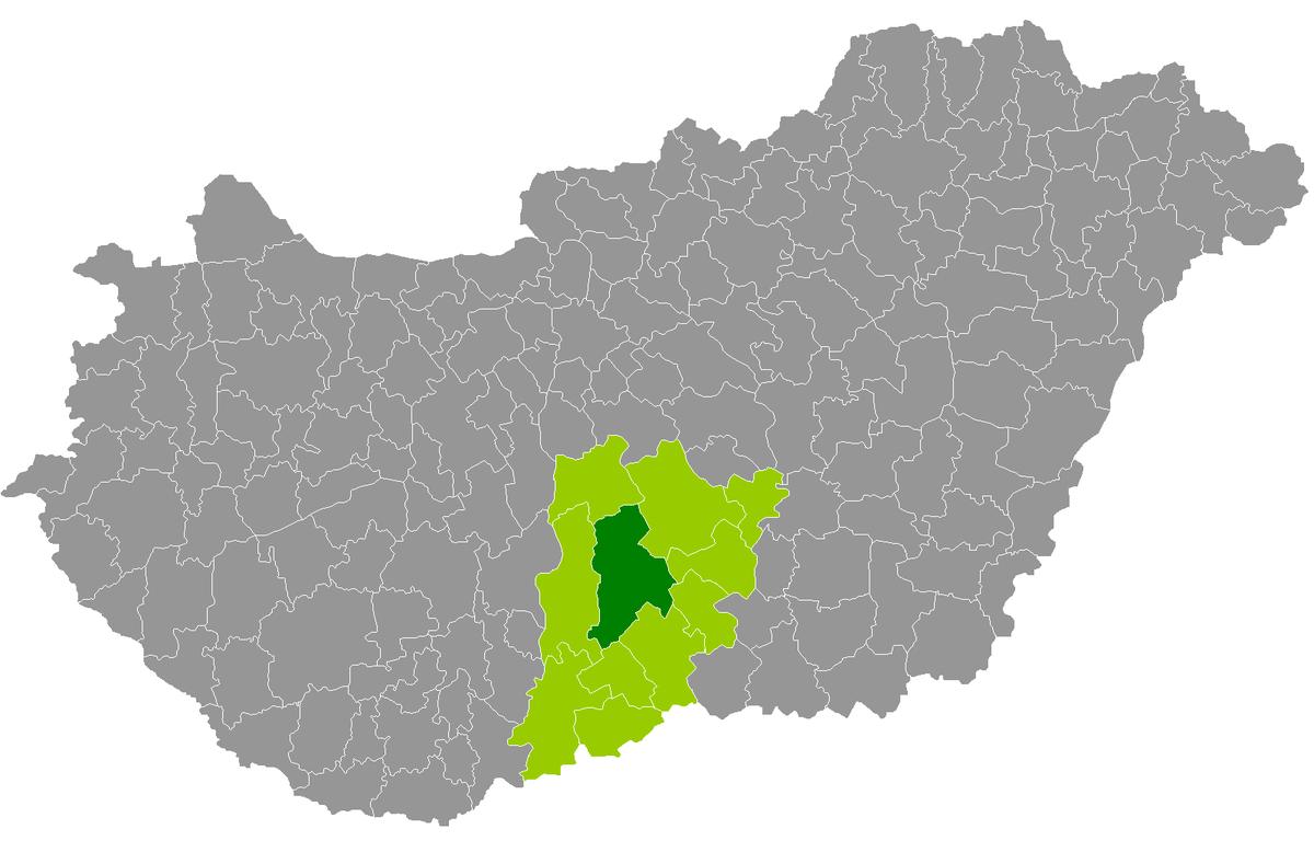 kiskőrös térkép Kiskőrös District   Wikipedia kiskőrös térkép