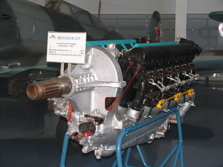 Klimov VK-107 1940s Soviet piston aircraft engine