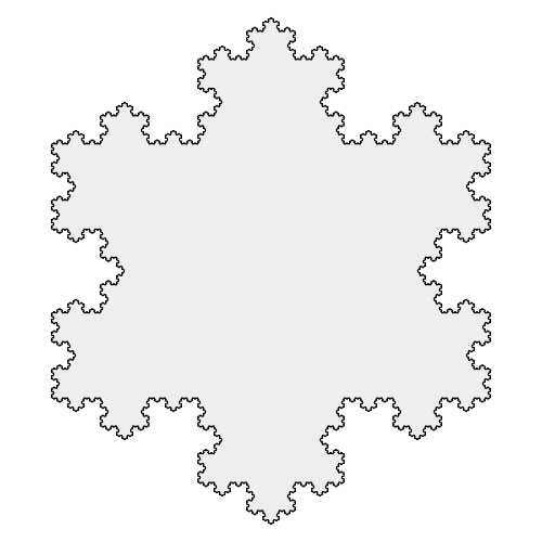 Koch Snowflake 7th iteration.svg