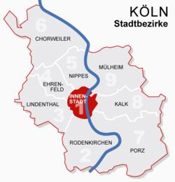köln karta tyskland Köln – Wikipedia köln karta tyskland