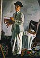 Koide Narashige - Self-Portrait with a Hat - Google Art Project.jpg