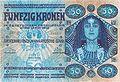 Kolo Moser - 50 Kronen-Banknote - 1902.jpeg