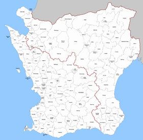 kommuner i halland karta