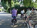 Koolwijk, cyclotouristes.JPG