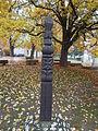 Kopjafa memorial. N. - Kossuth St., Budajenő, Hungary.JPG