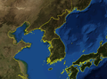 Korean Peninsula blank.png