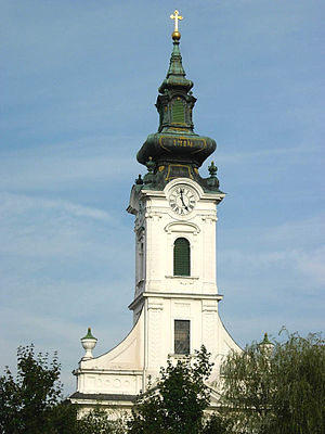 Kovačica - Image: Kovačica, Evangelical (Slovak) Church