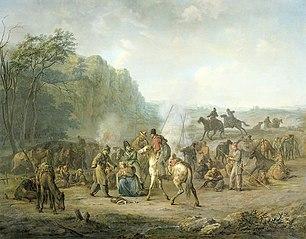 Cossack Camp, 1813