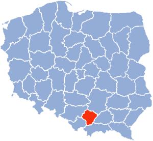 Kraków Voivodeship - Krakow Voivodship (1975-1998)