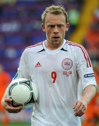 Michael Krohn-Dehli - Krohn-Dehli with Denmark at UEFA Euro 2012